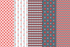 27 Christmas Seamless Patterns example image 6