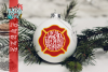 Firefighter Ornament SVG example image 1