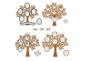 Family Tree SVG, Trees, Tree Cut File, Tree SVG For Cutting example image 3