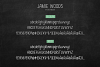 Skinny, Condensed font Jamie Woods example image 5