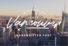 Vancouver - Handwritten Font example image 1