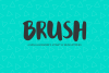 Brush - an attempt at brush lettering example image 1