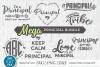 Principal svg bundle, Elementary school principal svg bundle example image 1
