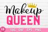 Makeup Queen SVG example image 1