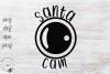 Santa Cam SVG example image 1