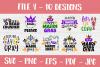 Mardi Gras SVG | SVG Bundle | SVG Cut Files | T shirt Desig example image 5