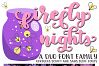 Firefly Nights - A Duo Font Family - Pretty Script example image 6