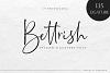 Bettrish // Stylish Signature Font example image 9