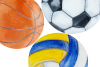 Watercolor Balls Clip Art Set example image 4