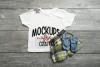 Child's Gildan Tshirt - White - MOCK-UP example image 1
