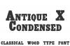 Antique X Condensed  example image 1
