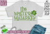 Master of Malarkey St. Patrick's Day SVG File example image 1