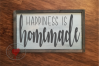 Happiness Is Homemade - SVG -Cut File example image 2