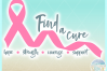 Find A Cure Quote One Color Ribbon SVG Dxf Eps Png PDF Files example image 2