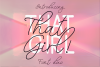 That Girl Font Duo example image 1