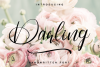 Darling - Hadwritten font example image 1