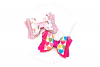 EMMA Bow Hair Bow Digital Template example image 2