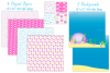 Mermaids, Mermaid graphics & Illustrations, Under the sea example image 4