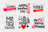 Valentine's Bundle SVG   Cut Files for Crafters   Kids SVG example image 5