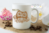 Owl SVG / EPS / DXF / PNG file example image 3