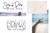 Beach Bum - Handwritten Script Font example image 5