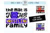 The Mat is Home for this Wrestling Family - A Sports SVG example image 1