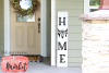 Home Sign SVG DXF EPS PNG example image 1