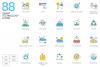 1266 Icons - colorPOP Vector Bundle example image 14
