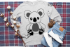 Koala SVG / PNG / EPS / DXF Files example image 4