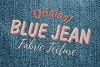 15 Denim Jean Fabric Textures JPG example image 2