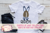 Football Bunny - Easter SVG, DXF, AI, EPS, PNG, JPEG example image 2