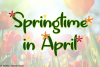 Springtime in April example image 1