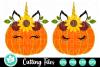 Unicorn Pumpkins - A Fall SVG Cut File example image 1