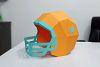 DIY Football Helmet - 3d papercraft example image 3