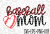 baseball mom svg- svg- baseball svg- sports svg example image 1