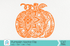 Pumpkin Mandala Svg, Pumpkin Svg, Mandala Svg, Pumpkin Dxf example image 1
