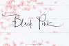 Black Pink Signature example image 10