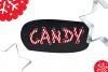 Christmas Font - Christmas Candy example image 4