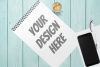 Spiral Note Book Mockup - 3 |PNG | W4000XH2667 example image 3