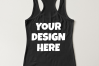 Ladies Tank Top Mockups - 20|Front/Back|PNG example image 2