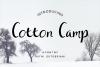 Cotton Camp - A Script Font example image 1