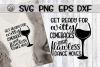 Wine With Friends - Bundle - 10 Designs - SVG PNG EPS DXF example image 11