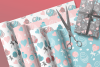 Cupcakes and Donuts Seamless Scrapbooking Papers 10 PNG file example image 4