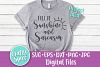 Full of Sunshine and Sarcasm SVG PNG DXF Cut File for Crafte example image 2