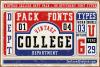 Vintage College Dept_Pack example image 1