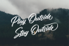 Rotterdalle Hand Lettered Script example image 9