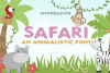 Safari Font example image 1