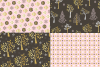 Gold Glitter Holiday Patterns example image 2