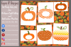 Pumpkin/ Monogram Pumpkin Frame Design File example image 2