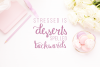 Macaron Moment - a sweet hand drawn script font example image 4